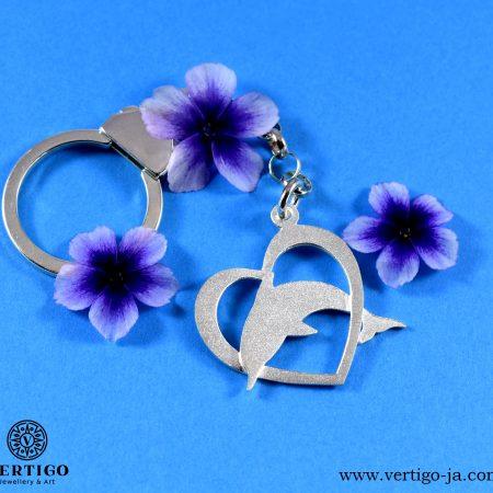 Silver keychain