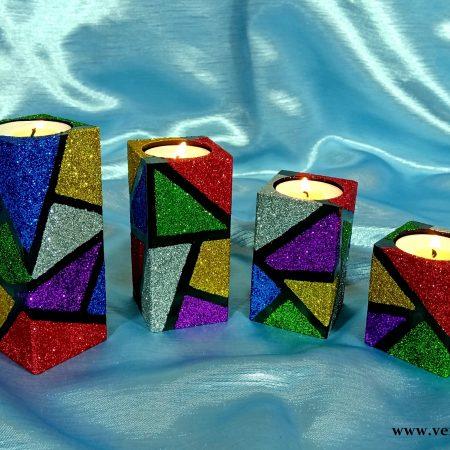 komplet-swiecznikow-drewnianych-brokatowych-kolorowych-na-tea-light